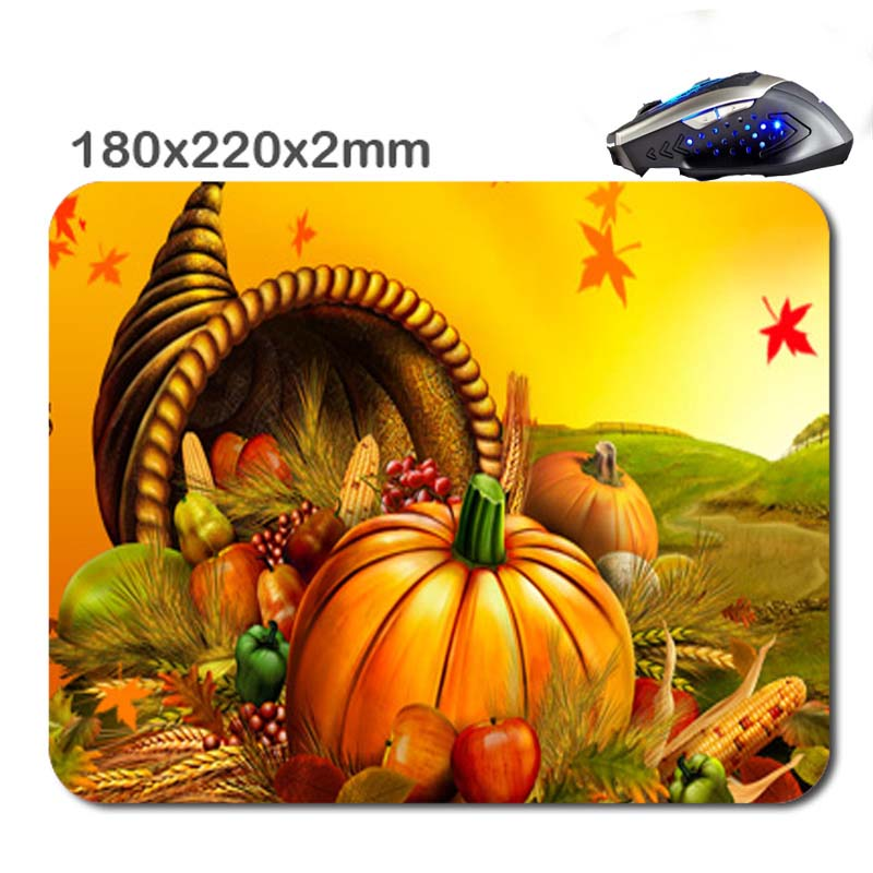Custom pumpkin 3D Print 2017 New Arrival Hot Selling Design High Quality Durable Computer Gaming Anti-Slip Laptop PC Mouse Pad