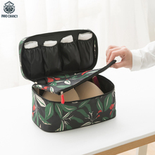 INHO CHANCY Waterproof Bra Storage Bag Multi-functional Women Underwear Clothes Lingerie Organizers Travel Accessories Makeup