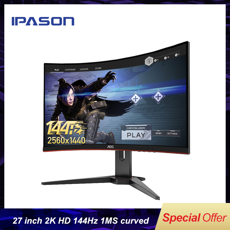 Gaming Monitor CQ27G1 27inch 2K curved e sports game display