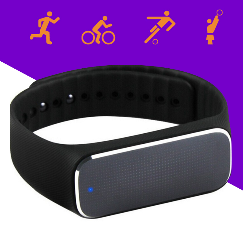Waterproof Fitness Tracker Intelligent Healthy Blood Pressure Heart Rate Emotional Bracelet Sleep Monitoring font b Smart