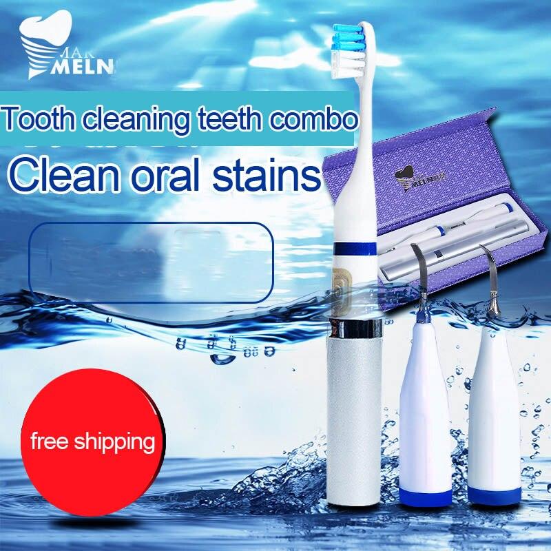 Sonic дома чистка зубов инструмент зубного камня для удаления перейдите к зубного камня, чтобы дым пятен стиральный устройства