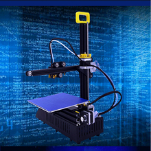 3D Printer  DIY Kit FDM Injection Molded with LCD Screen Off-line Printing Self-assembly for Artistic Design Education