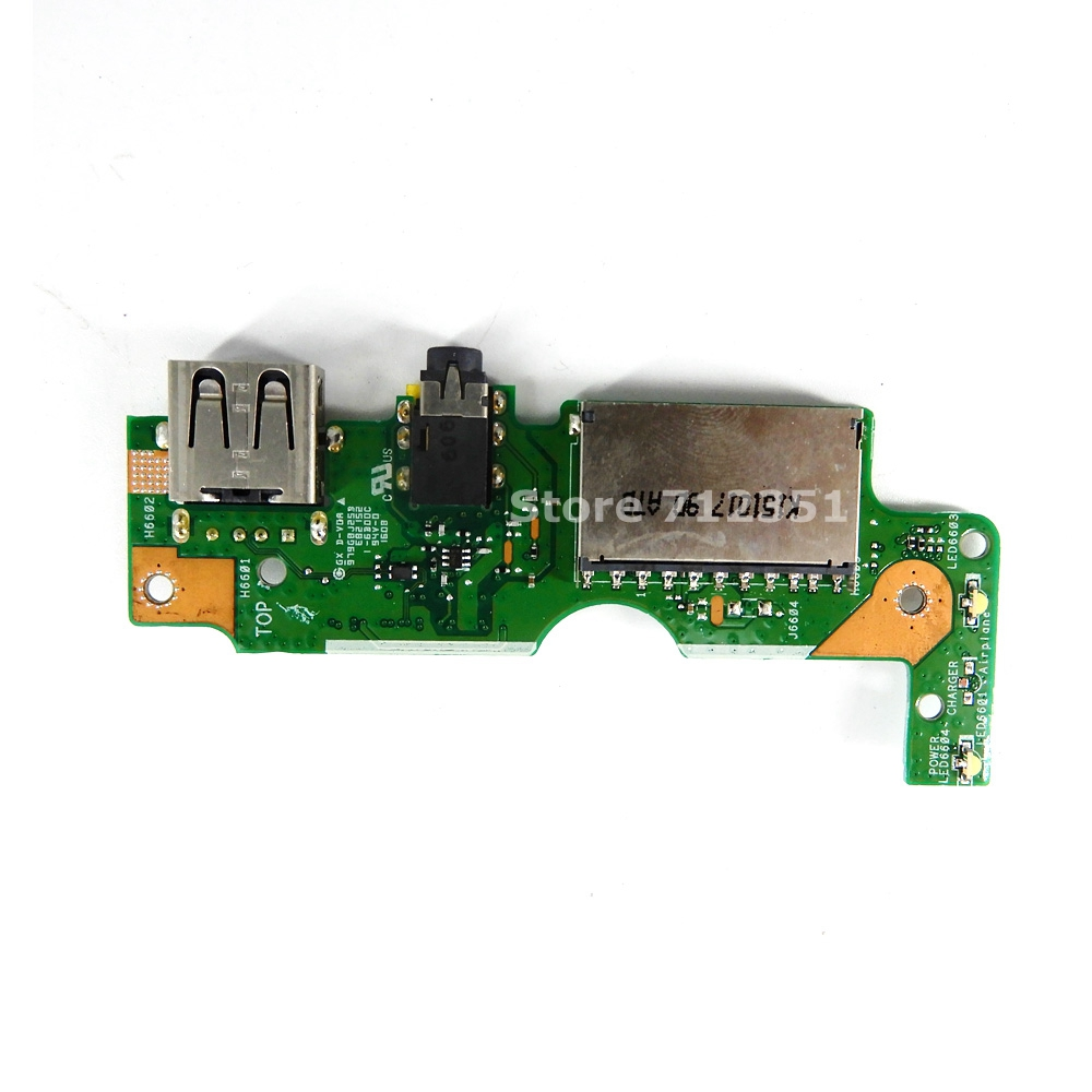 For ASUS PU551 PU551LA Laptop Audio usb IO board Interface board