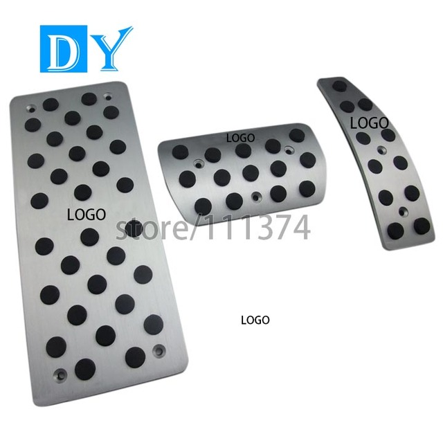 Modified styling Aluminum Foot Rest Pedals Gas Fuel Brake Pedal Automatic For OPEL Antara Replacement Auto accessories