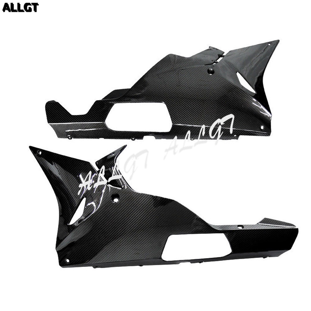 цены Pre-Preg Carbon Fiber Lower Belly Pan Fairings for BMW S1000RR 15-17 2015 2016 2017