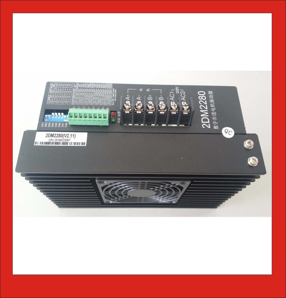 2DM2280 2Phase Stepper Motor Driver AC80-240V 8A Suitable for NEMA 34/42/51 Step Motor