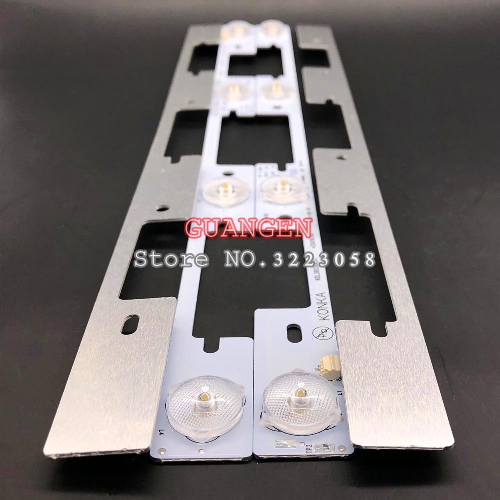 New 80 Pieces*4 LEDs*6V LED Backlight Bar For TV KDL39SS662U 35018339 35018340 327mm Led Bar