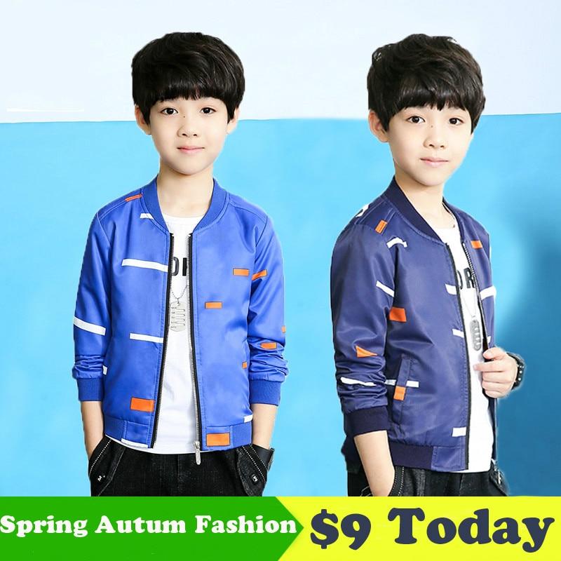 Miaoyi 2018 Новинка весны осенние куртки для мальчиков куртка-бомбер детские ветровки Весна мальчиков ветрозащитный пальто
