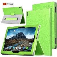 MDFUNDAS For Lenovo Tab 4 Plus 10 TB X704F TB X304F Case Printing Flower Flip Cover