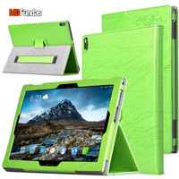 MDFUNDAS For Lenovo Tab 4 Plus 10 TB X704F TB X304F Case Printing Flower Flip Cover