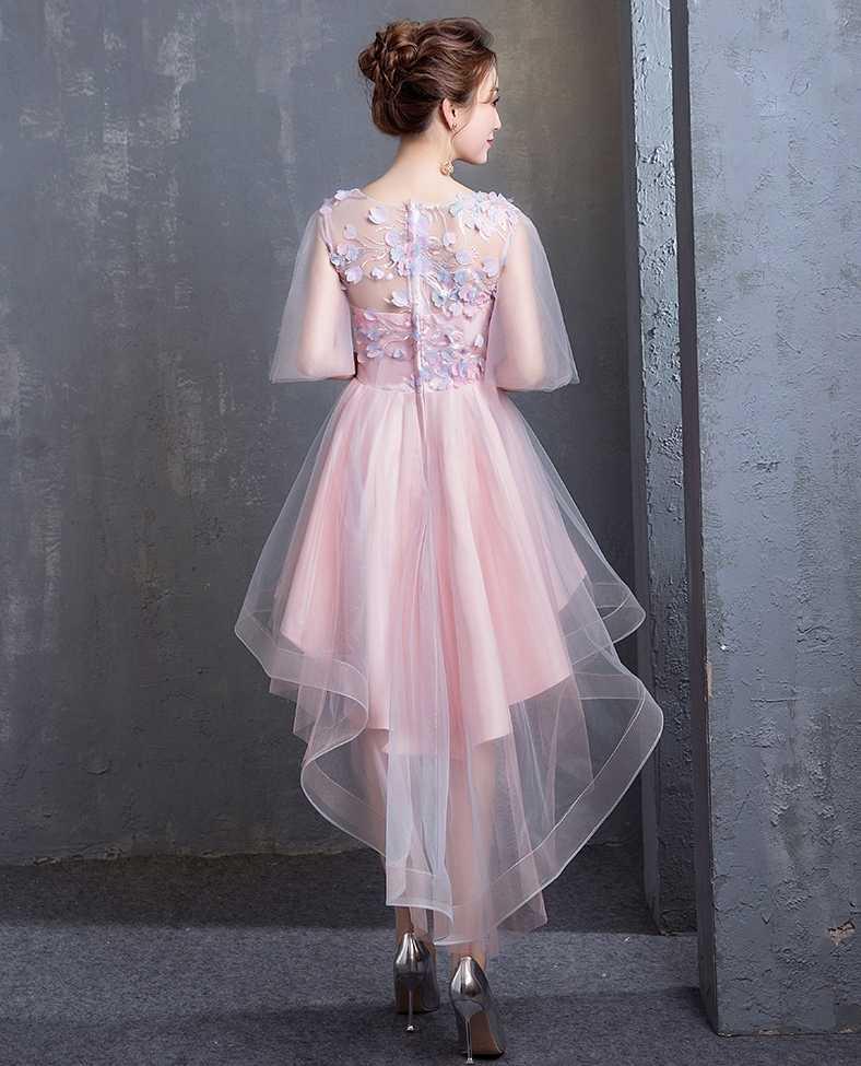 אלגנטי קו כסף O צוואר קצר קוקטייל שמלות עם אפליקציות חרוזים פורמליות שמלת ערב המפלגה שמלות לנשף שמלות Vestidos