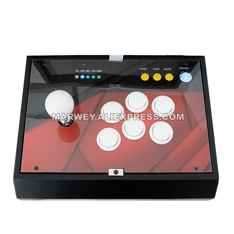 "10.1"" Inch Retro Game Box 1299 in 1 / 1388 in 1 Pandora 6S Mini Arcade Console Joystick Buttons PCB Board DIY Kit Video Machine"