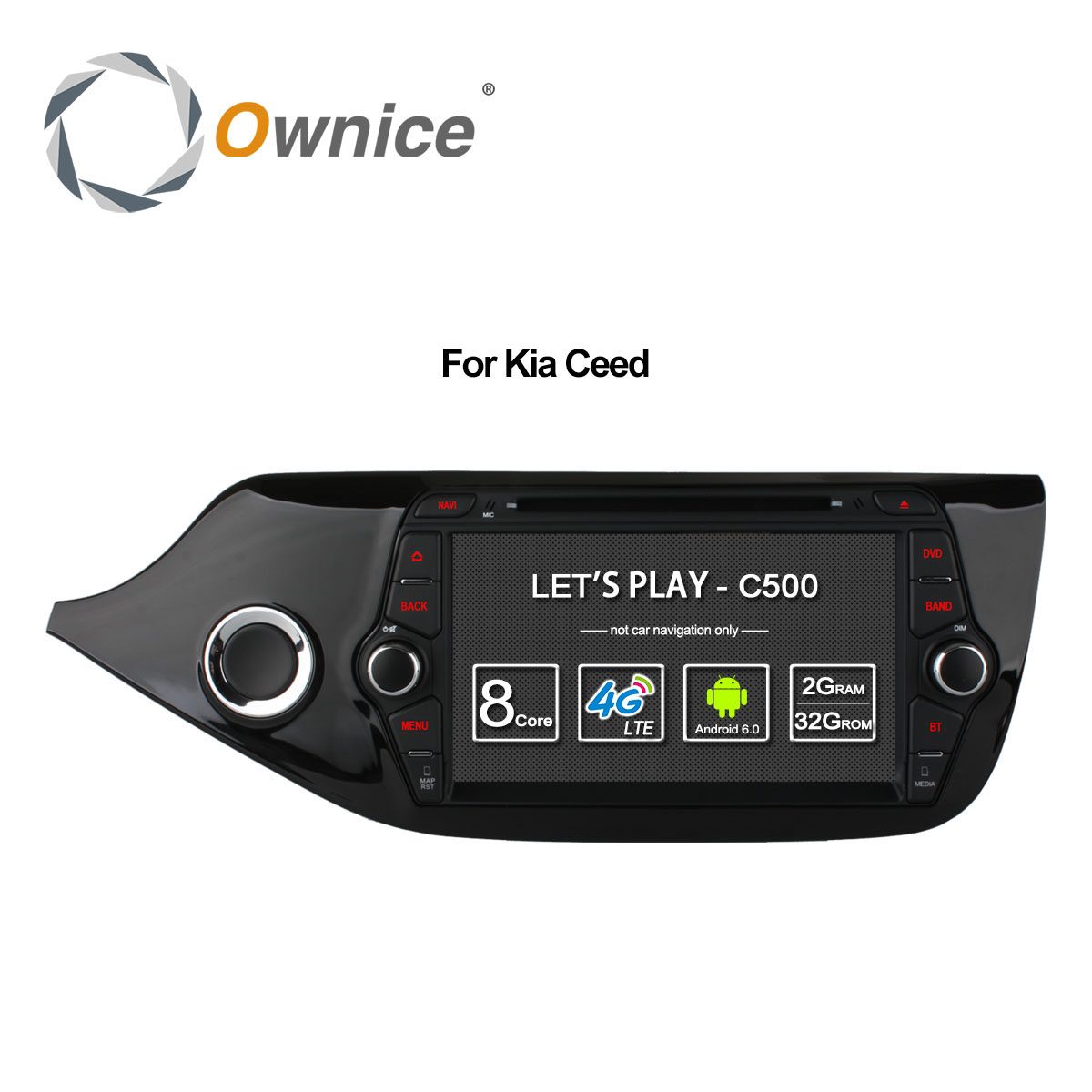 Ownice C500 4G SIM LTE Octa 8 Core Android 6 0 For Kia CEED 2013