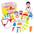 29 Шт./компл. fun Доктор игрушки дети притворись play house игрушки ребенка аптечка классические игрушки мальчиков и девочек Моделирования медицина