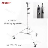Falconeyes 3 м цельнометаллический осветительная стойка для больших нагрузок фотографической лампы каркас шкив лампа frame Весна Flash стойку FD 9107 CD50