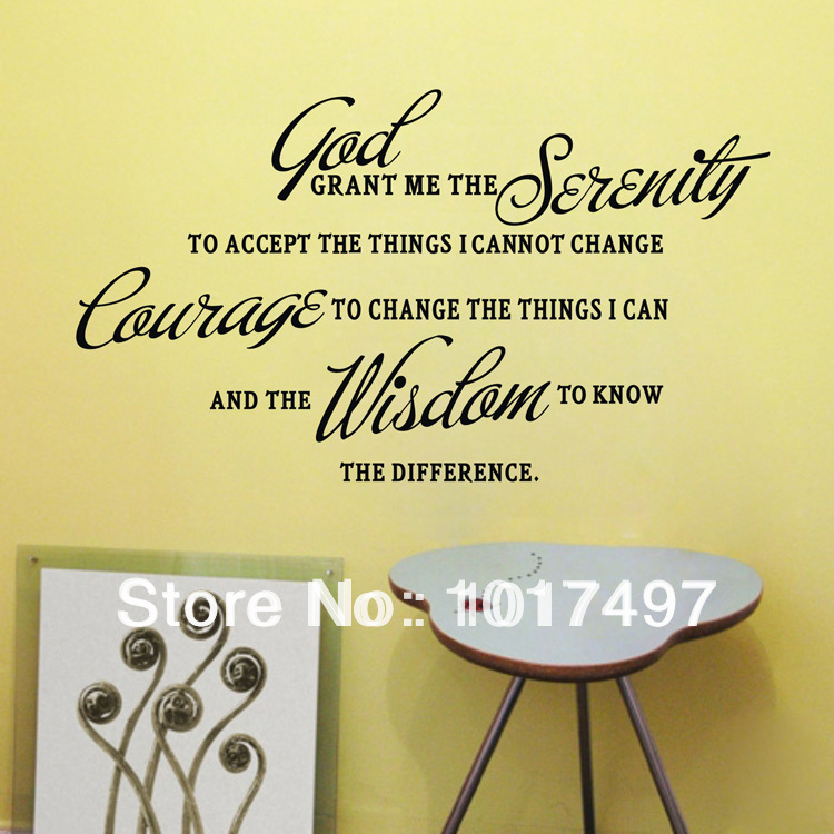 classic famous sayings vinyl wall quote stickers lettering home decor decals free shipping 0261
