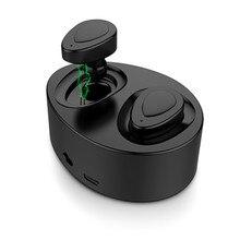 K2 Twins Mini + Laddningsväska Bluetooth Hörlurar Sport Trådlösa Stereo Headset Dual In-Ear Mic Power Bank För Iphone Xiaomi