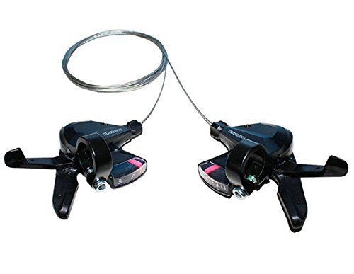 SHIMANO Altus SL-M310 3x8 3x7 21 24 Speed Shifter Trigger Set Rapidfire Plus w/Shifter Cable все цены