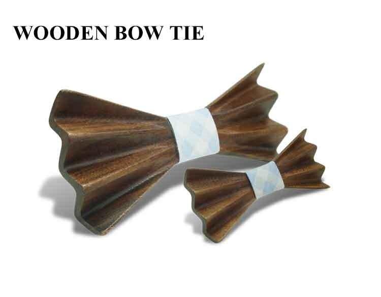 Schlussverkauf Mode Holz Bowties Für Männer Bogen Krawatten Corbatas Business Schmetterling Krawatte Krawatte Für Party Hochzeit Holz Krawatten