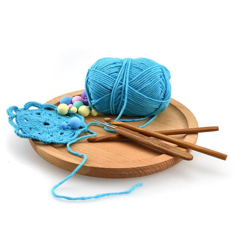 KOKNIT-20pcs-Set-Bamboo-Crochet-Needles-Set-Sweater-Knitting-Needle-Crochet-DIY-Handmade-Craft-Tools (4)