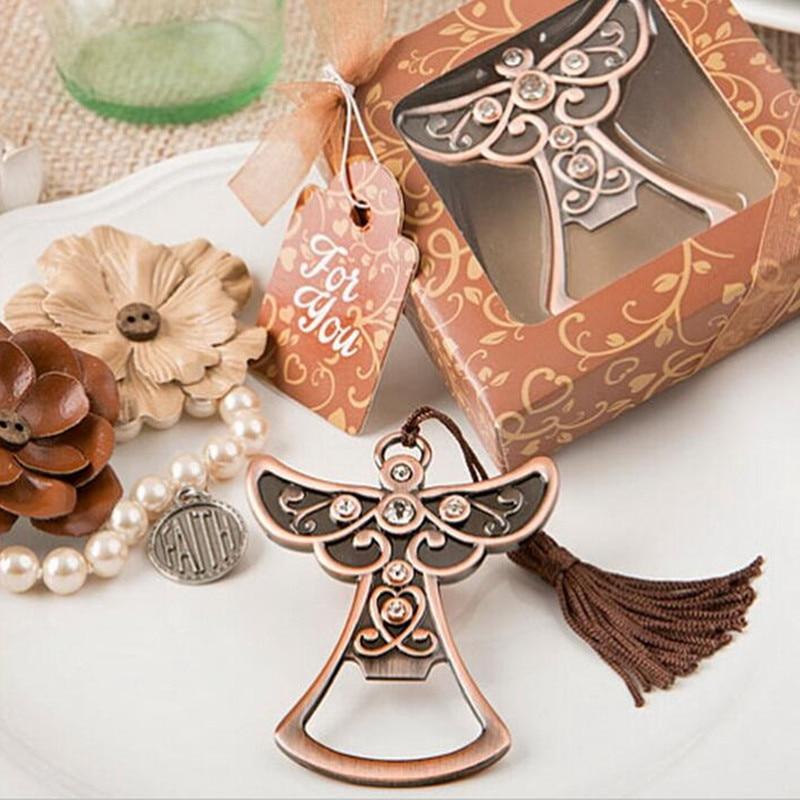 Angel Bottle Opener Trouwbedankjes Geschenken Huwelijksgeschenken Voor gasten Huwelijksherinneringen Event & Feestartikelen Bruidsdecoratie