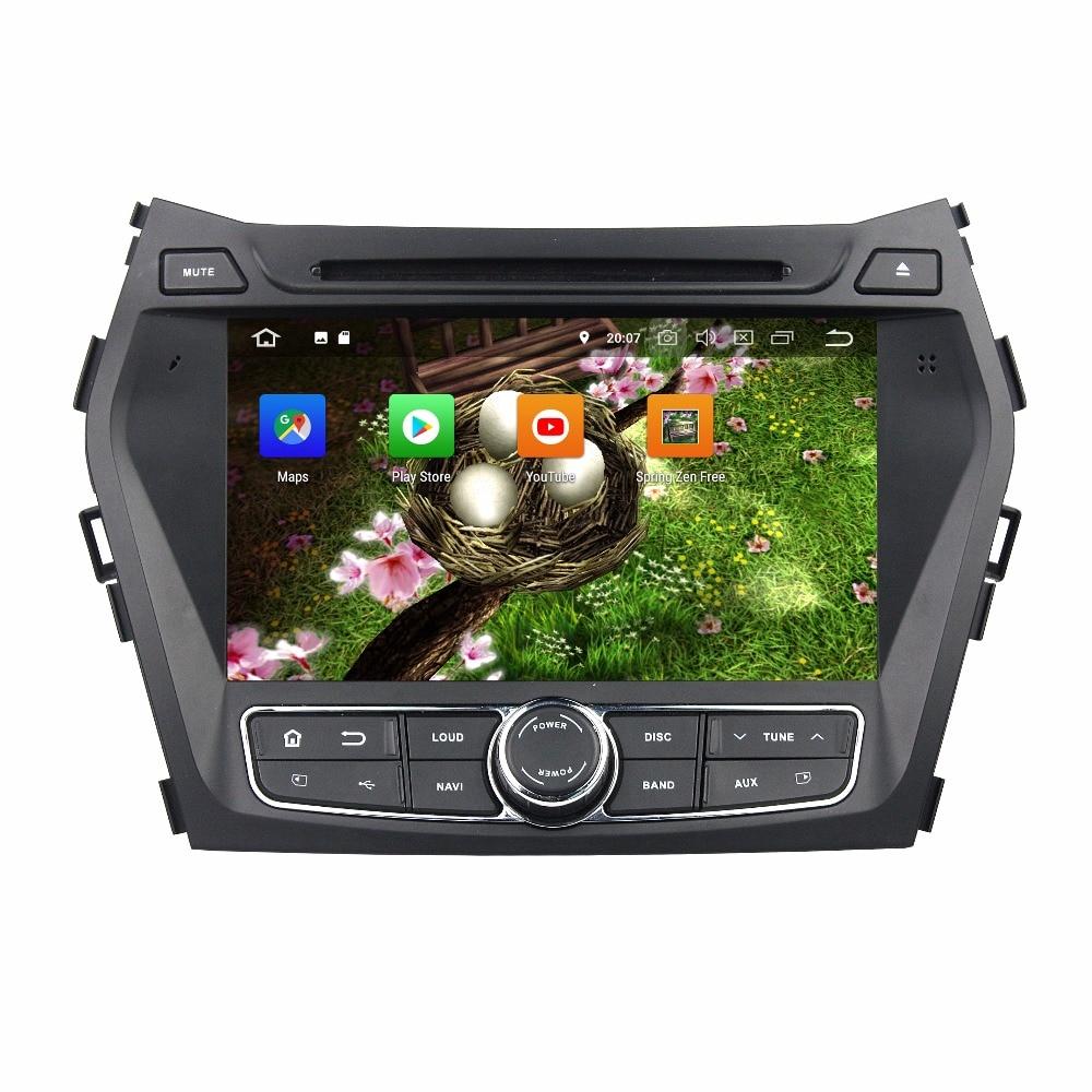 KLYDE 8 2 Din 8 Core 32GB Android 8.0 Car Multimedia Player For Hyundai IX45 Santa Fe 2013 2014 Car DVD Player 1024*600