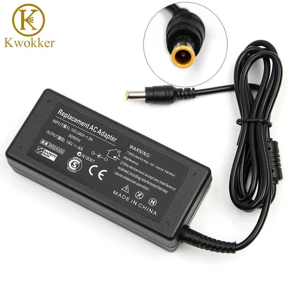 14 V 456 W AC adaptador para ordenador portátil para Samsung LCD SyncMaster Monitor S24A350H B2770 P2770H P2370H fuente de alimentación para portátil