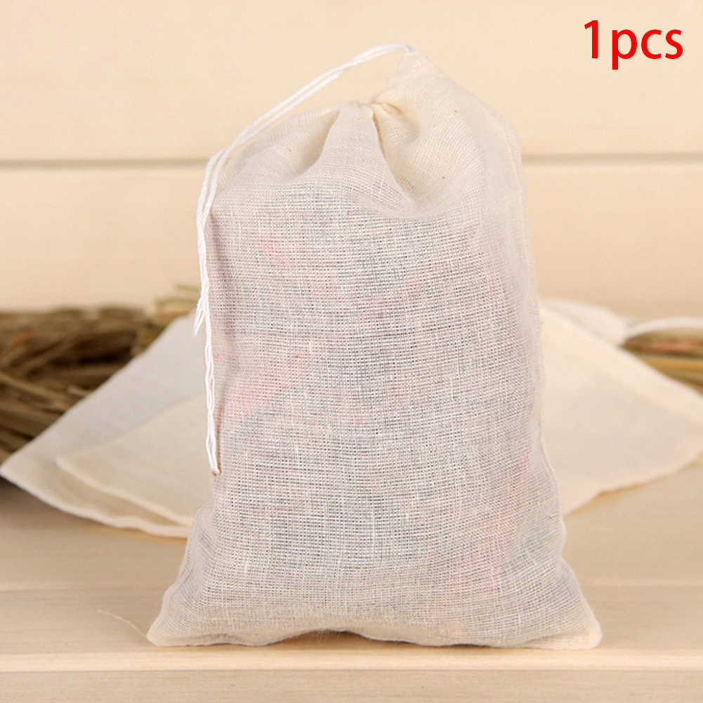 5* Nut Tea Milk Juice Cotton Mesh Filter Bag Fish Tank Reusable Strainer 26*20cm