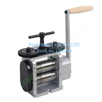 herramientas joyeria herramientas joyeria CDD0151 Roller Width 110 mm Roller Dia 50 mm Mini Rolling Mill Hand Rolling Mill for J 100 mm diameter roller silicone sleeve for corona treater