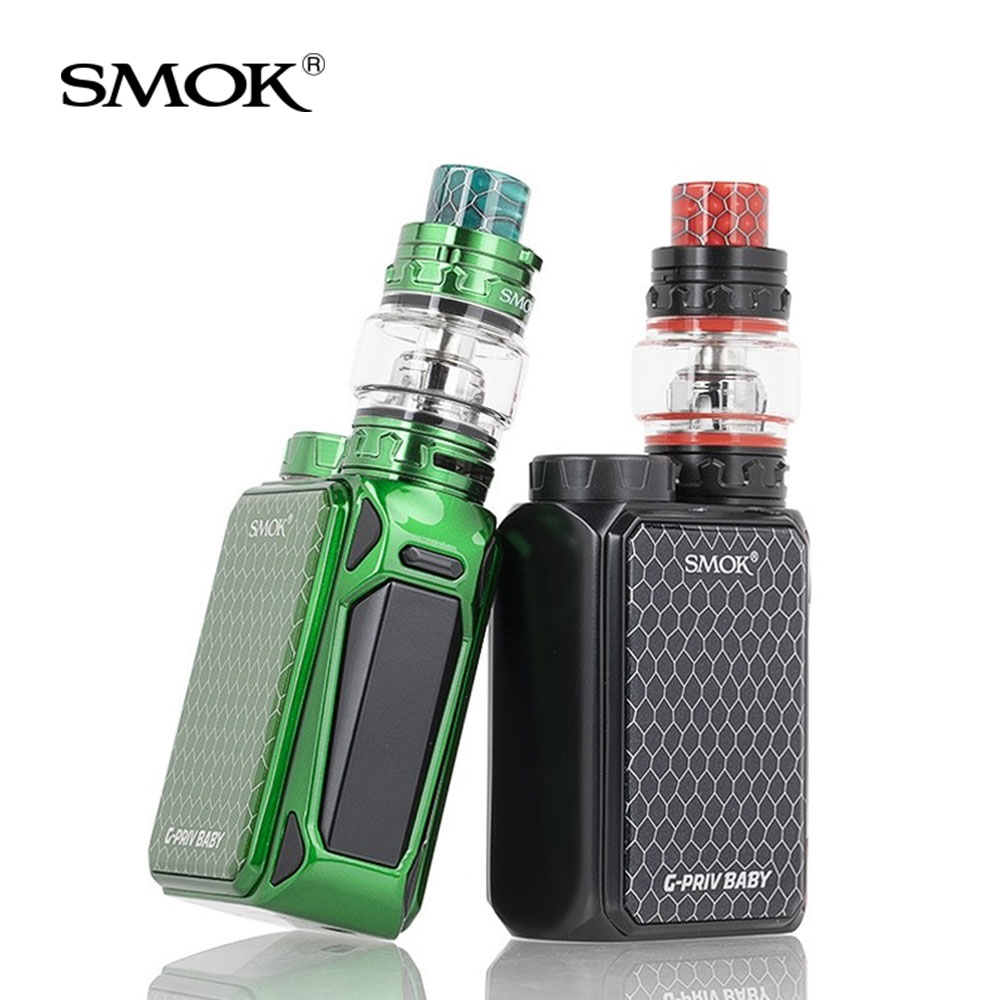Original SMOK G-Priv Baby Kit Luxe Edition 85W with V12 Baby Prince Tank 4.5ml+Q4/Q2 coils Electronic cigarette smok g priv baby
