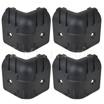 4Pcs Black Hard Plastic Guitar Amp Cabinets Amplifier Speaker Cabinet Corner Protectors L e services logo