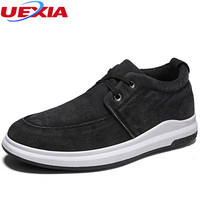 UEXIA Summer Breathable Shoes Men Outdoor Walking Casual Comfortable Loafers Quality Flats Hot Sale Breathable Moccasins