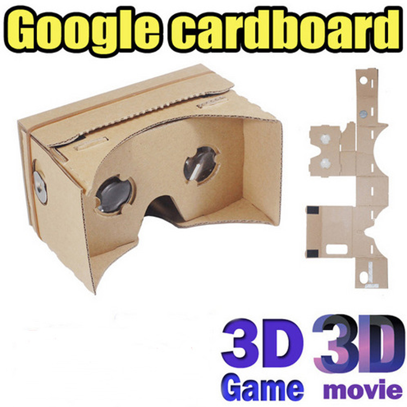 921453a3b6b Google Cardboard 3D Virtual Reality Glasses VR Box DIY ToolKit Goggles for  iPhone 6 6S Plus 4.7 6 inch Android Smartphone 10PCS-in 3D Glasses  Virtual  ...