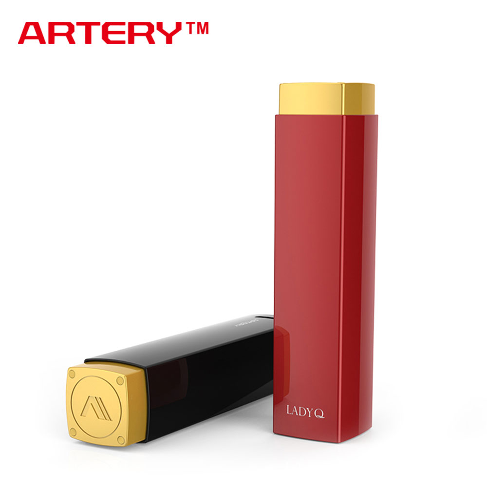 Original Artery Lady Q Starter Kit 1000mAh Top Filling & Bottom Airflow Control with 0.7ohm LQC Coil E cigs for Female Vapers
