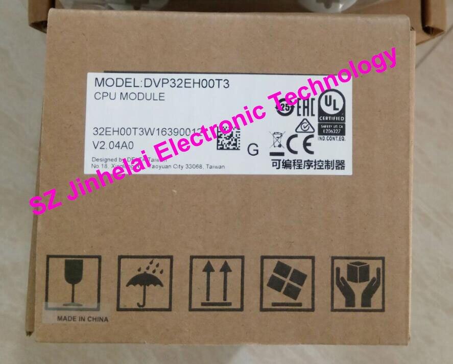 100% New and original DVP32EH00T3 Delta PLC 32points host,16DI/16DO(NPN transistor)