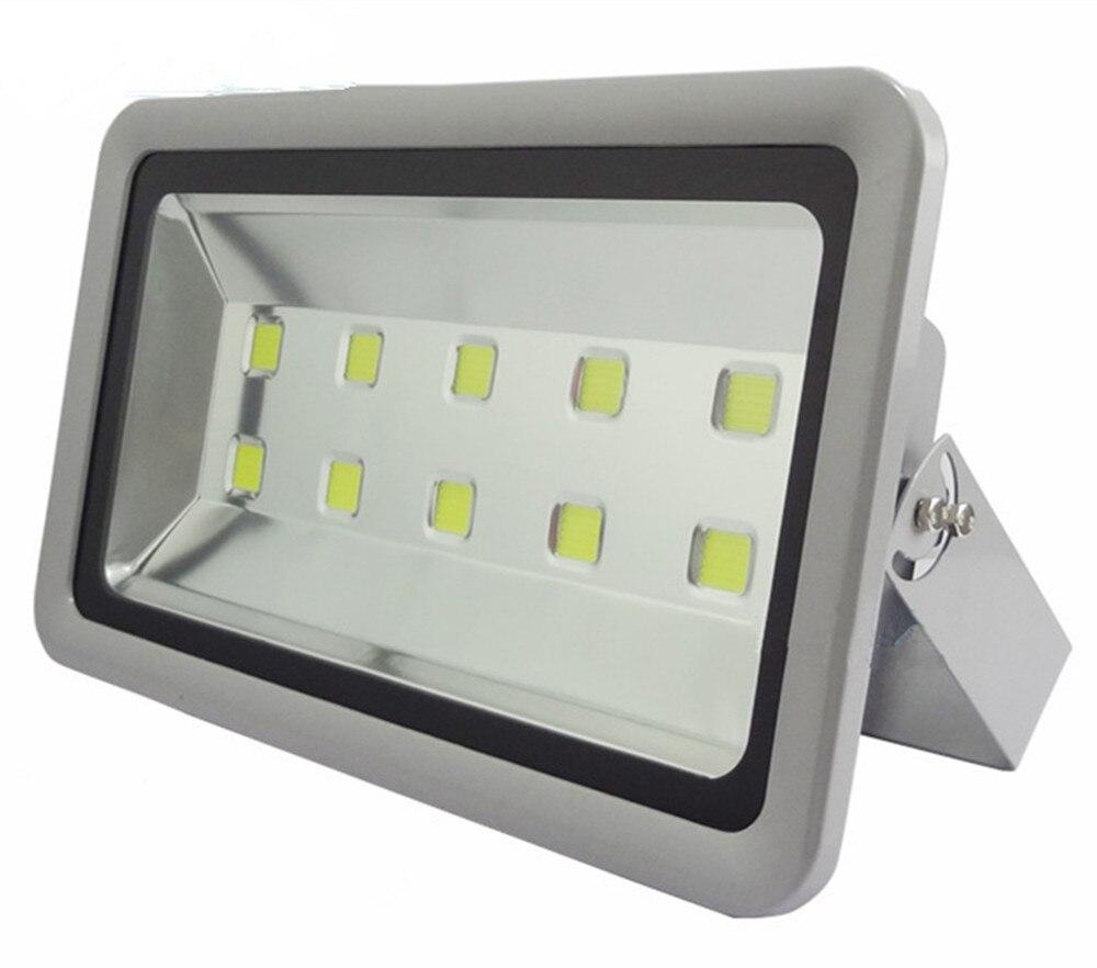 wholesale 500W LED Flood Light 85V 265V floodlight Outdoor lamp flood lighting Free FedEx