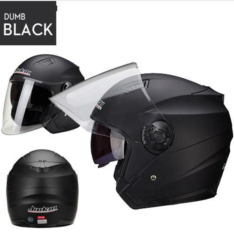 half Men Motorcycle Helmets Dual Lens Scooter Moto Helmet Casco vespa village Riding capacete de moto motocross Helmets