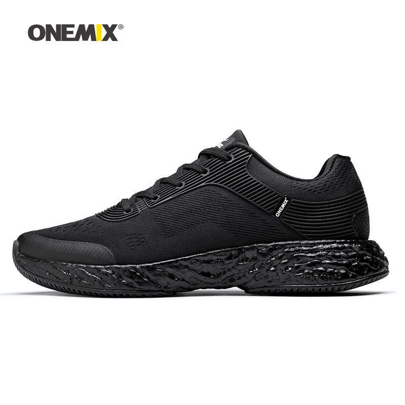 ONEMIX Erkekler koşu ayakkabıları Kadınlar Için Güzel Atletik Eğitmenler Zapatillas Iz Spor ayakkabı ışığı Açık Yürüyüş Sneakers Ücretsiz 5.0