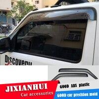 For JIMNY Plastic Window Visor For Suzuki JIMNY 2007 2015 Vent Shades Sun Rain Deflector Guard 4PCS/SET Car Styling