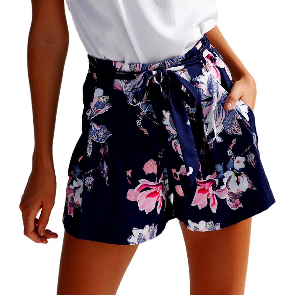 Shorts Shorts Women Spodenki Damskie Sexy Hot New 2019 Summer Casual Shorts High Waist Shorts шорты женские Szorty Damskie Z4
