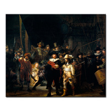 The Night Watch Painting