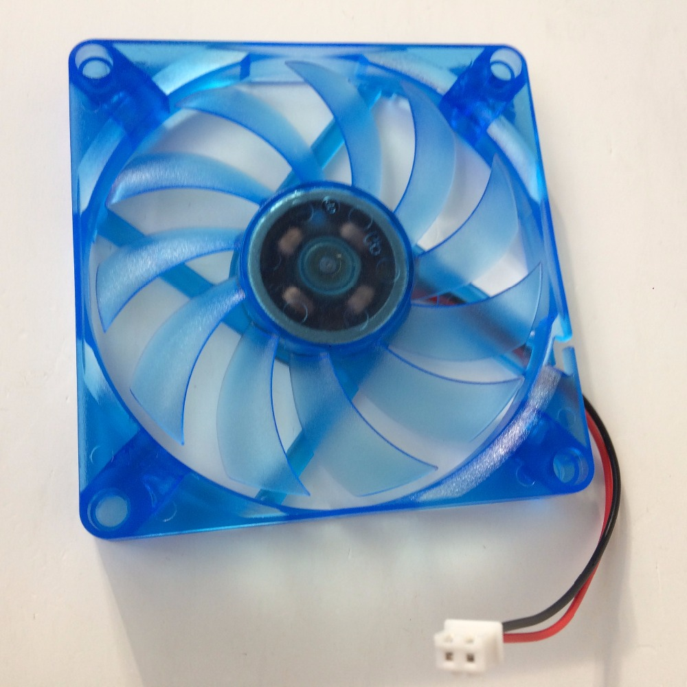 Image 4 - DIY 2 pcs/lot PC Computer Fan 80mm 8CM DC 12V Oil Bearing  Cooling Cooler 80mmx80mmx10mm-in Fans & Cooling from Computer & Office