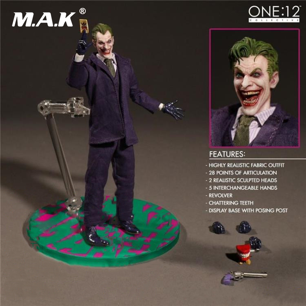 6 inches Batman The Joker Comics Version Action Figures with Box for Collections Toys Gifts