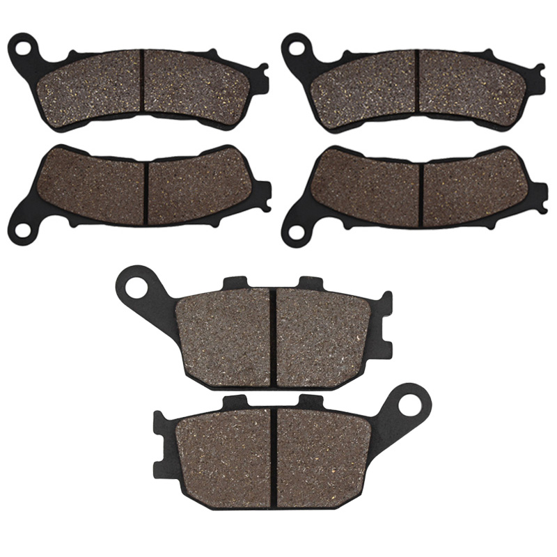 Cyleto Motorcycle Front and Rear Brake Pads for Honda XL 700 Transalp 08-11 CB 600 CB600F Hornet 07-12 NC 700 NC700 2012 2013 cyleto motorcycle front and rear brake pads for yamaha xvz1300 xvz 1300 royal star boulevard tour deluxe tour classic 96 01
