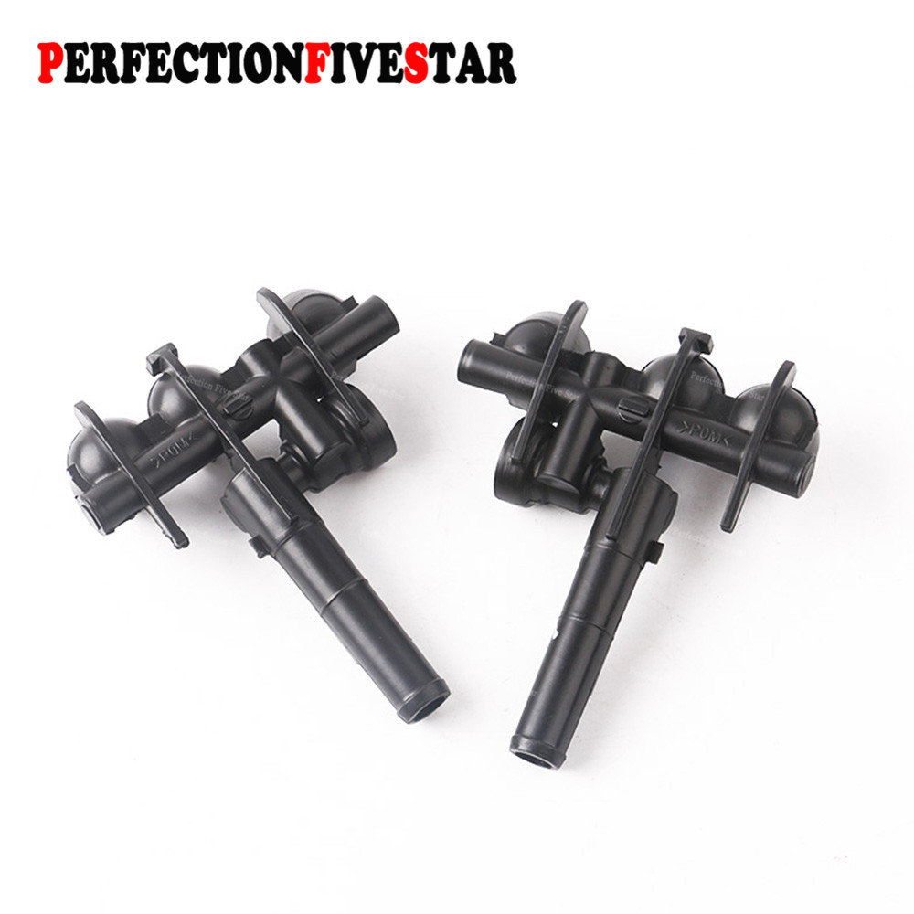 Pair Headlight Washer Nozzle Sprayer Left Right 2208601547 2208601647 For Mercedes-<font><b>Benz</b></font> <font><b>W220</b></font> S430 <font><b>S500</b></font> S600 2000 2001 2002 image