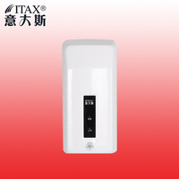 Free Shipping Wall Mounted Electric Sensor Touchless Automatic Infrared Hot Wind ABS Plastic Hand Dryer Toilet