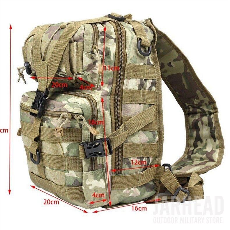 edc saco para caminhadas ao ar livre acampamento caça 20l