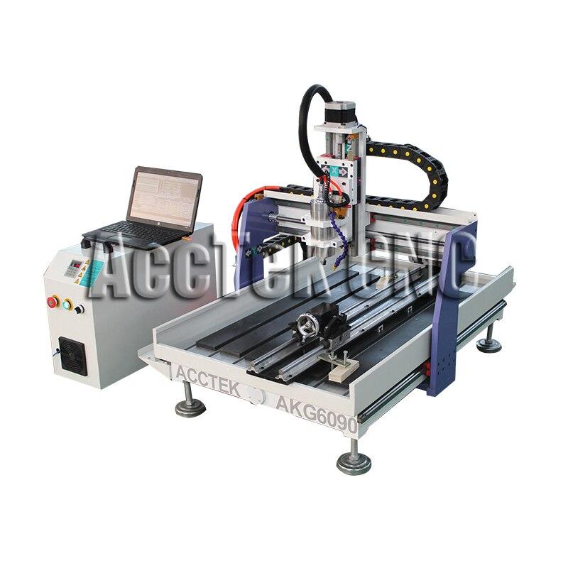 High precision wood router 6090 cnc machine AccTek wood engraving machine