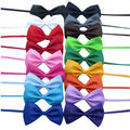 Lot 18 unids Tuxedo Mens Bowtie de la Pajarita Corbata Corbata Ajustable Mix 18 Color