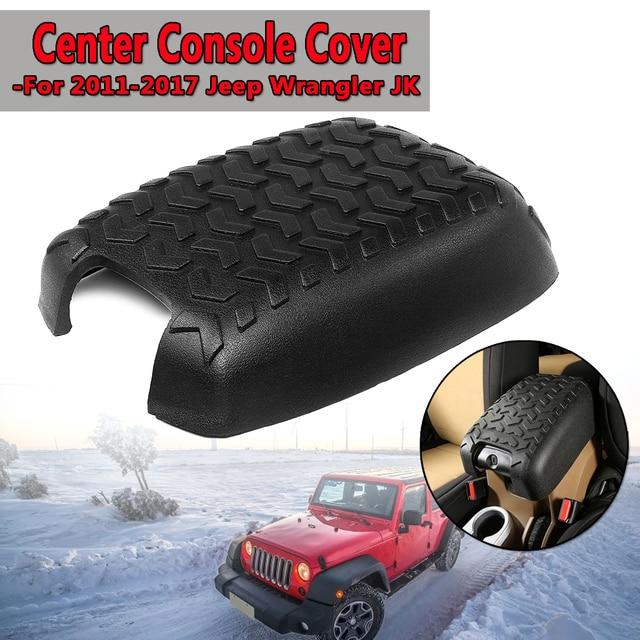 US $20 55 36% OFF New Car Center Armrest Console Cover Pad For Jeep for  Wrangler JK 2011 2017 Polyurethane Foam Black Front Seat Armrest Storage-in